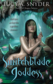 Interview: Lucy A. Snyder on Switchblade Goddess and Beyond