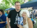 "2012, with RJ and ""Maxine Marie"" from Haunting Obsession."