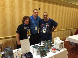 E. Chris Garrison, me, John F. Allen