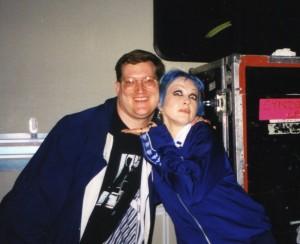 Cyndi and RJ 1997.