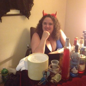 Your devil bartender Elizabeth Donald will serve you now.